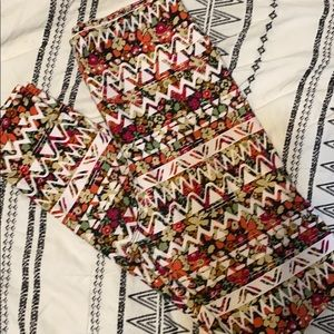 Lularoe OS leggings | Printed